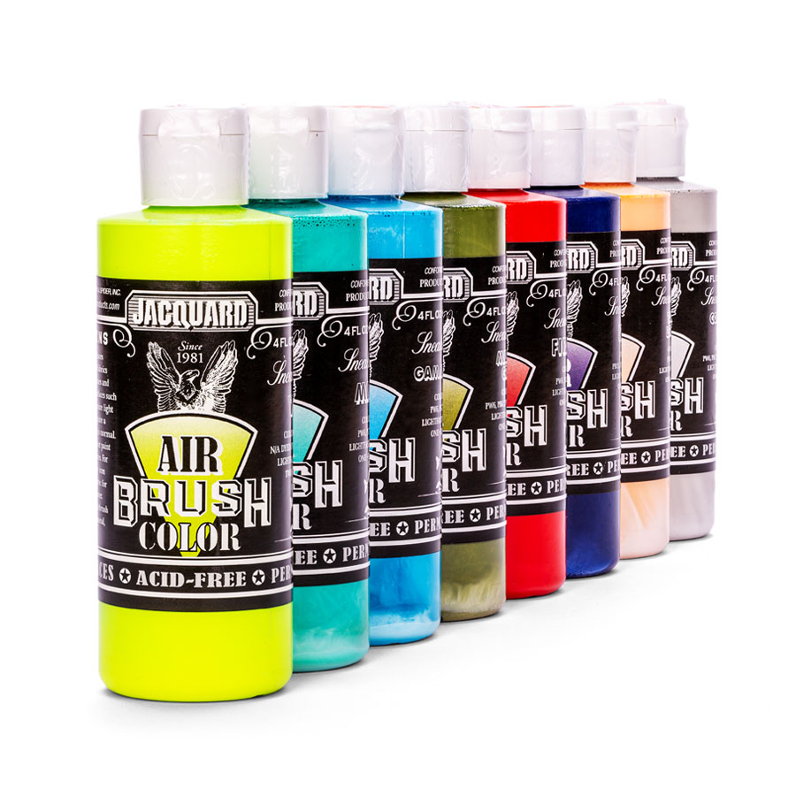 Jacquard Airbrush Color - Sneaker Serie - Farbauswahl