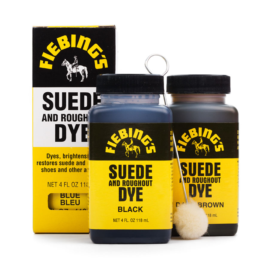 Wildlederfarbe Fiebing's Suede & Rough-Out Dye
