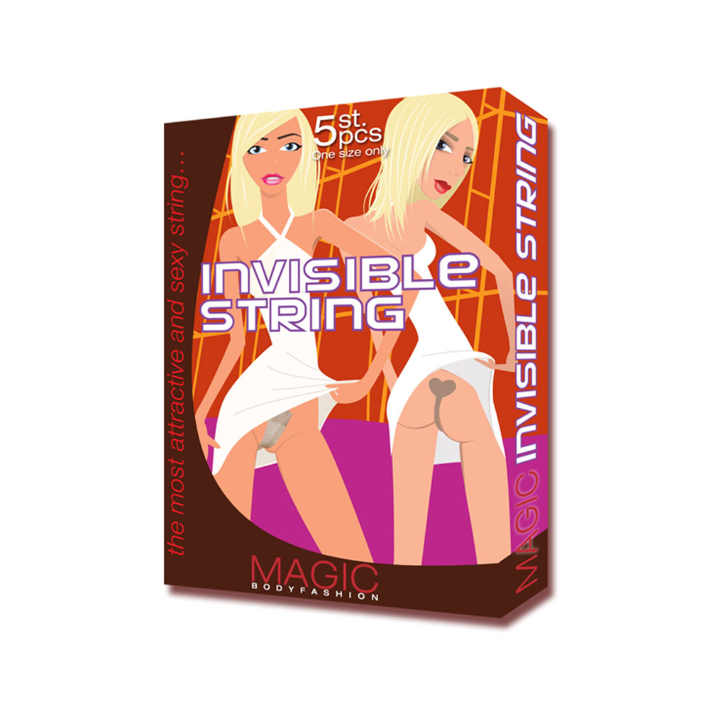 Magic Bodyfashion - Invisible String - Verpackung