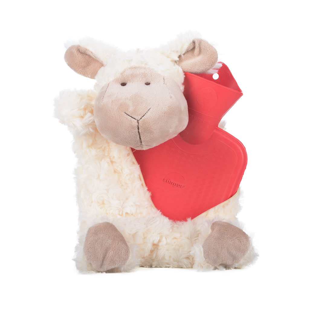 Hot Water Bottle Sheep Dolly 0.8 l with Hot water bottle