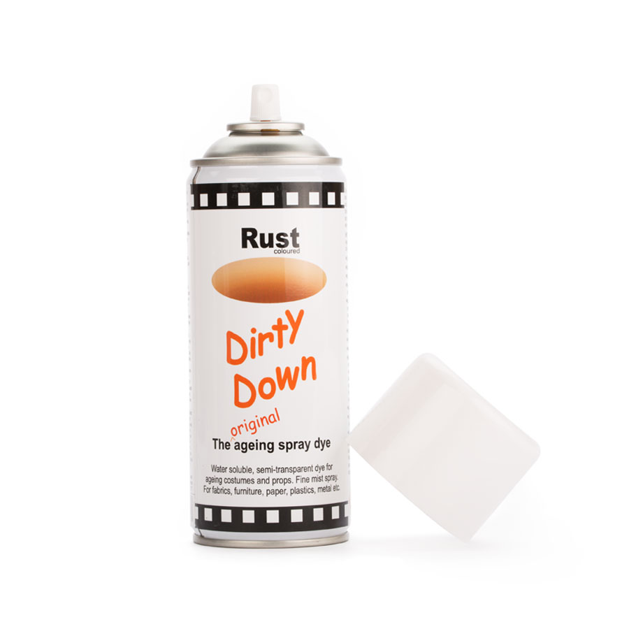 Dirty Down Spray - Rost - Ohne Cap