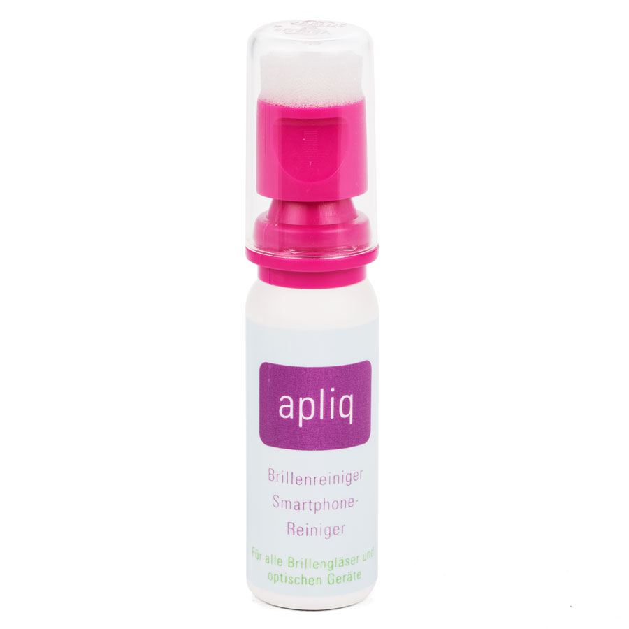Apliq - the perfect eyeglass cleaner