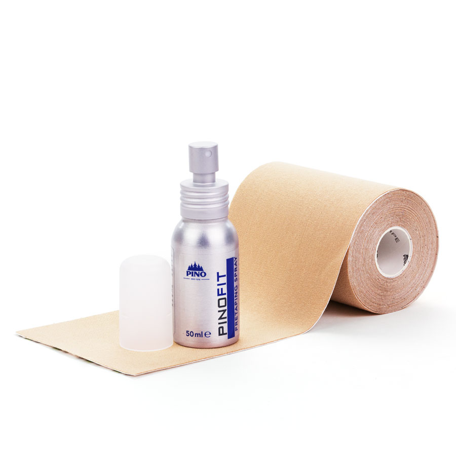 Pino Kinesiotape plus Pino Pretaping Spray