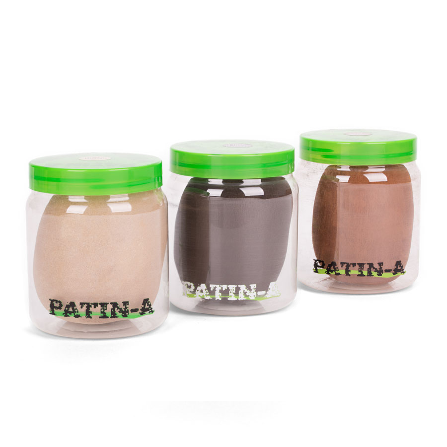 PATIN-POWDER--PACK 3er-Set Warme Farben: 500ml