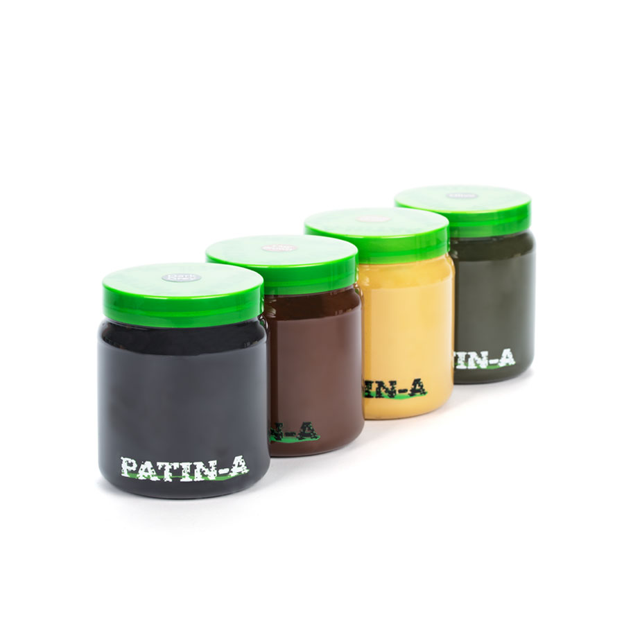 PATIN-PASTE - Patinierpaste -Starter set 4x500ml