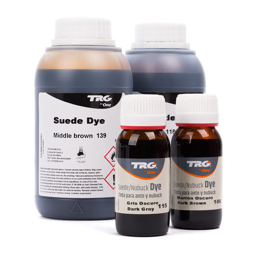 TRG Wildlederfarbe - Suede Dye 50ml & 500ml