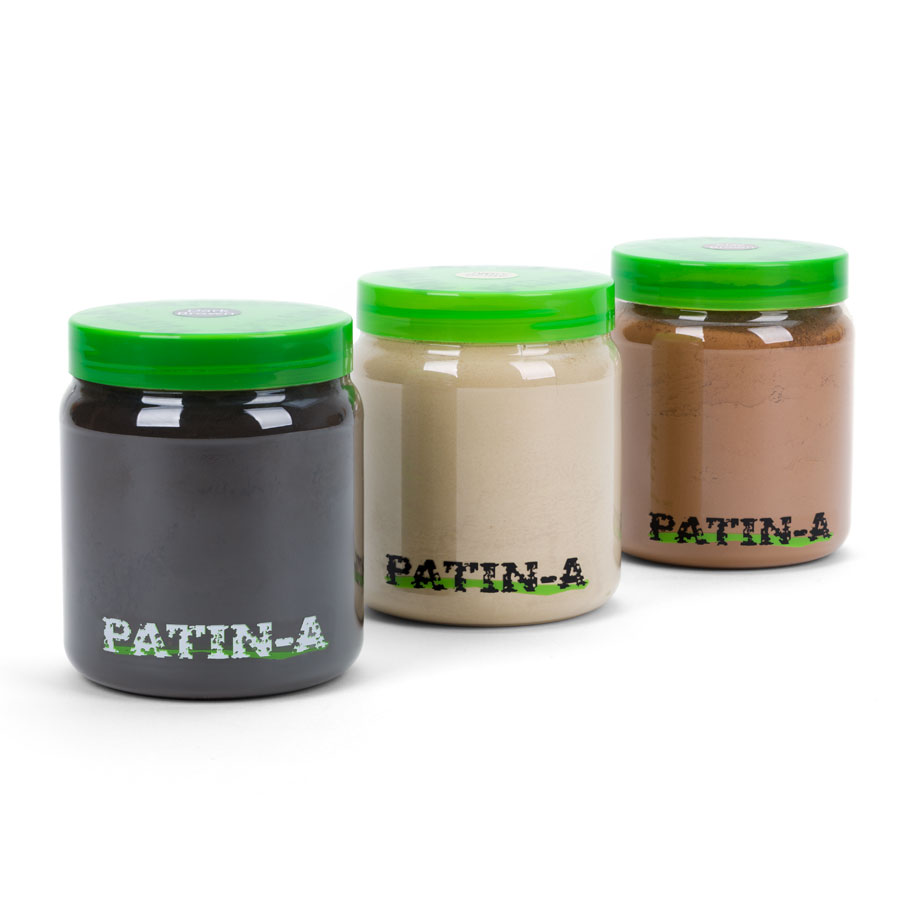 PATIN-POWDER 3er Set - warme Farben - 500ml Set