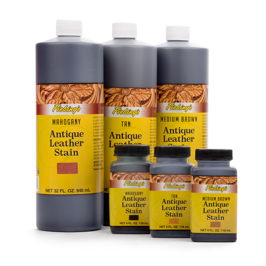 Fiebings Antique Leather Stain 118ml & 946ml