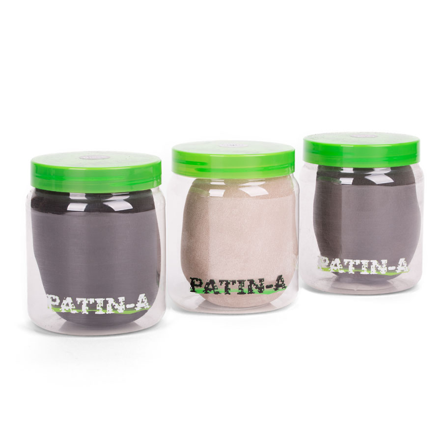 Farbkarte PATIN-POWDER-PACK 3er Set kalte Farben - 500ml