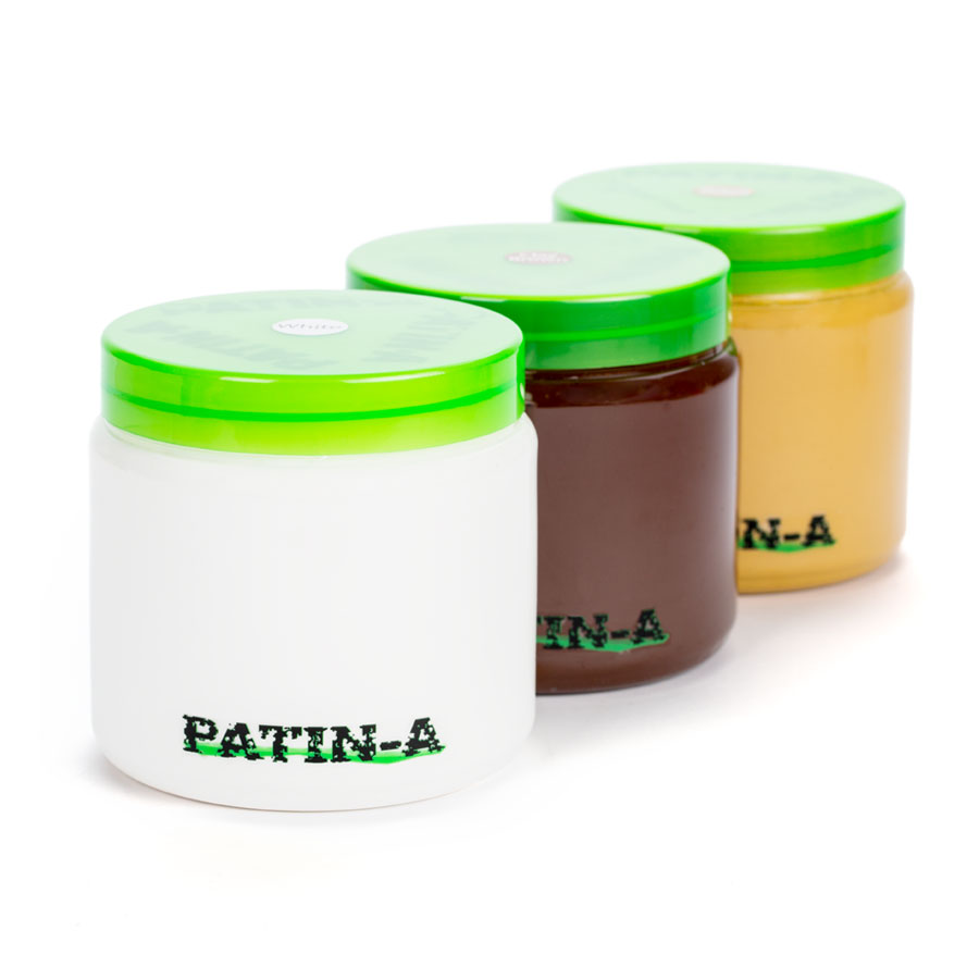 PATIN-PASTE - Patinierpaste -Helle Farben 3x1000ml