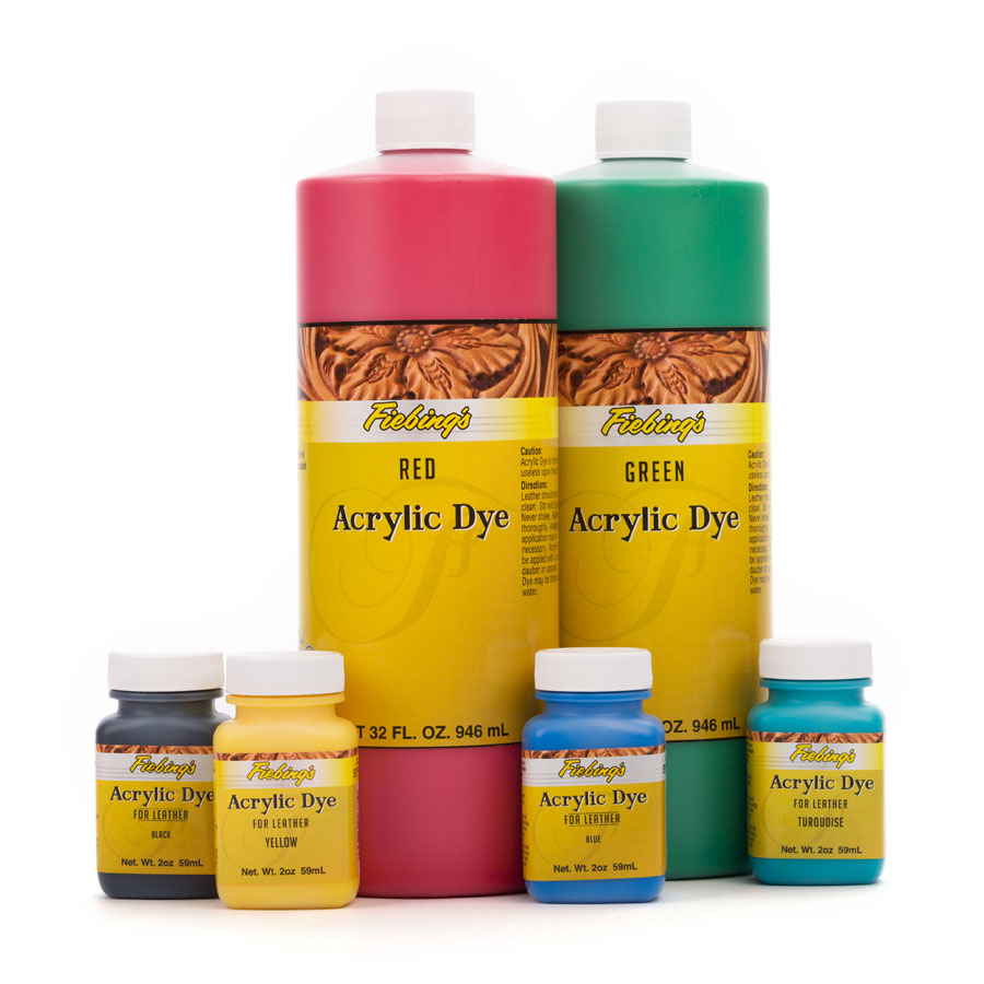 Fiebing's Acrylic Leather Dye (Acryl Lederfarbe)