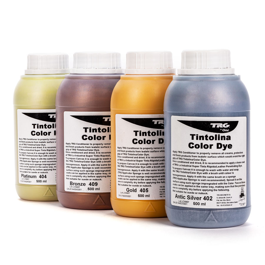Metallic Lederfarbe - TRG Tintolina - 500ml