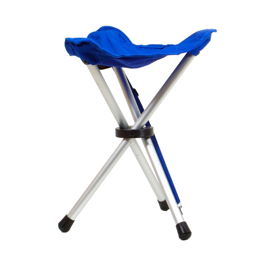 Coghlans Folding Tripod Stool Alu Light Amp Handy