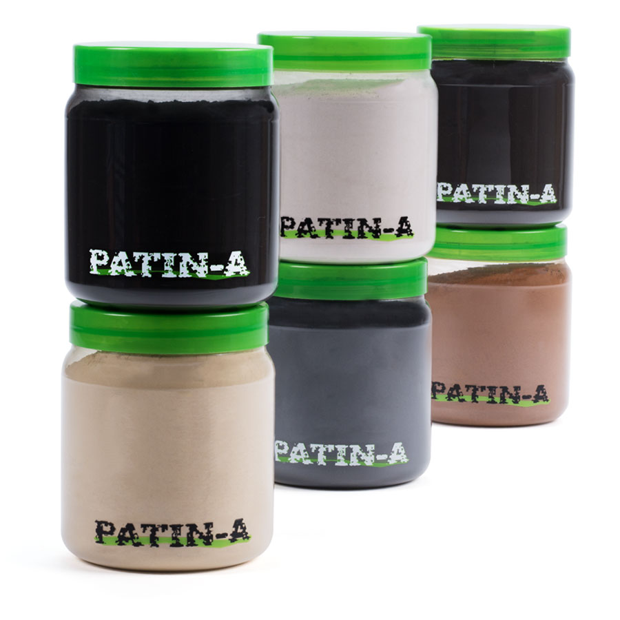 PATIN-POWDER SET - Patinierpuder 500ml