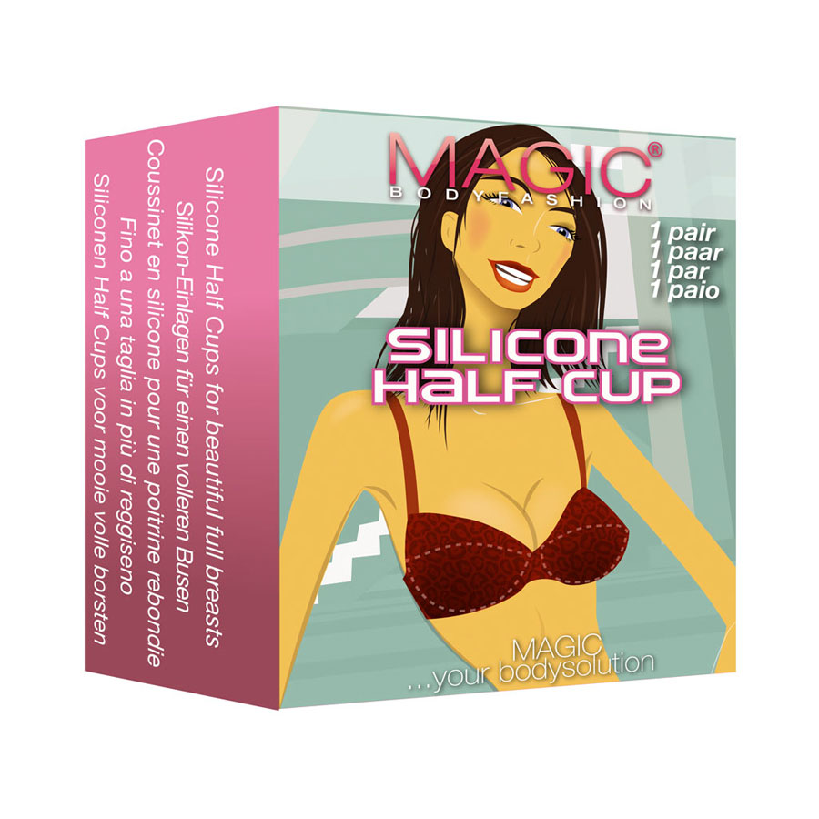 Magic Bodyfashion - Silicone Half Cup - Cover