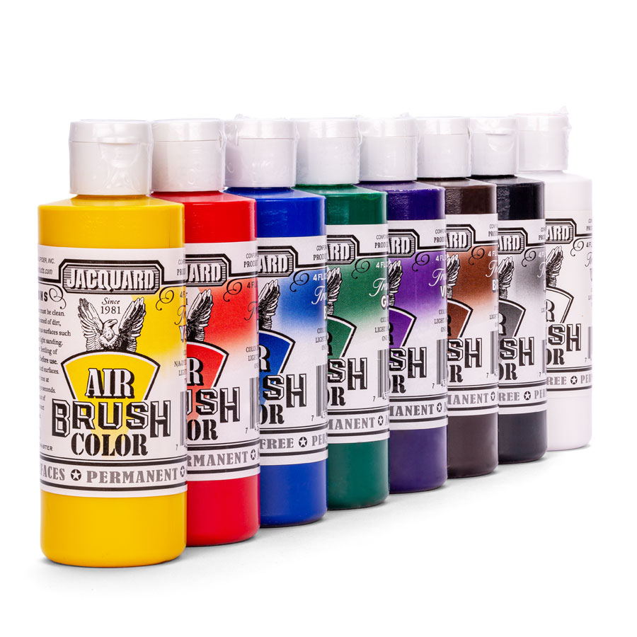 Jacquard Airbrush Color Bright - Hell & Transparent - Farbauswahl