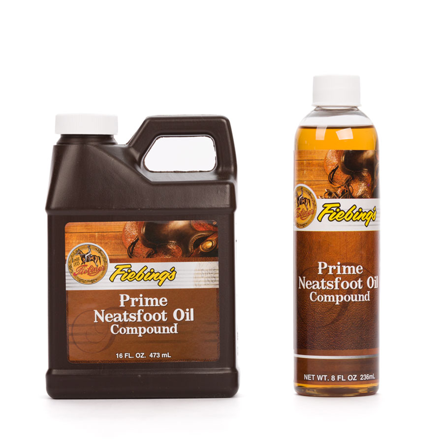 Fiebing's Prime Neatsfoot Oil Compound - 236ml & 473ml