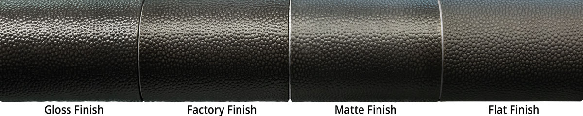 LK - Liquid Kicks - Top Finishes on black Leather by PATIN-A