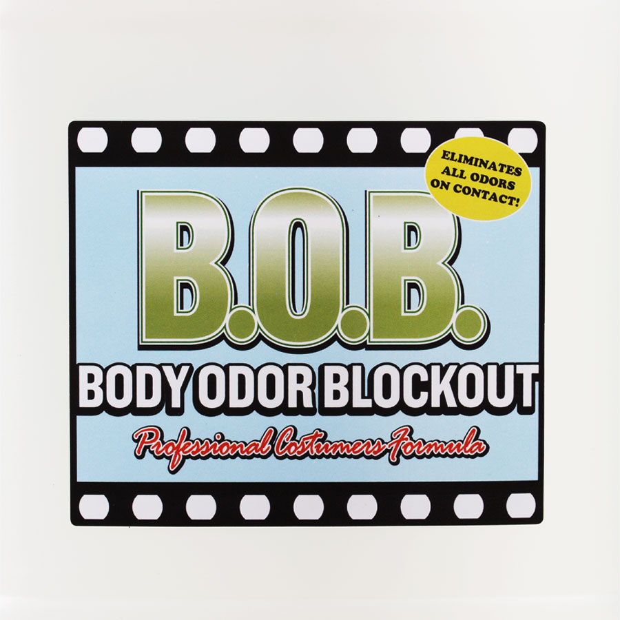 Body Odor Blockout - B.O.B. Label