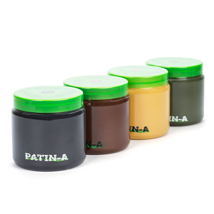 PATIN-PASTE - Patinierpaste -Starter-Set 4x1000ml