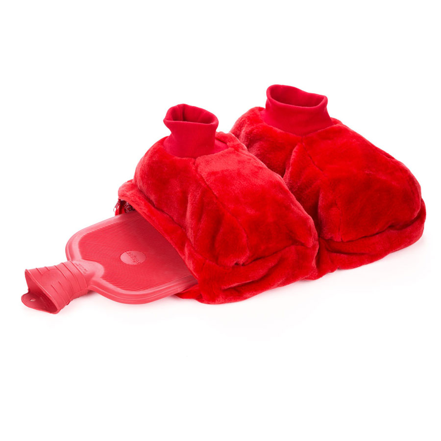 Sänger Footwarmers (with Hot Water Bottle) - 2.0 l Red