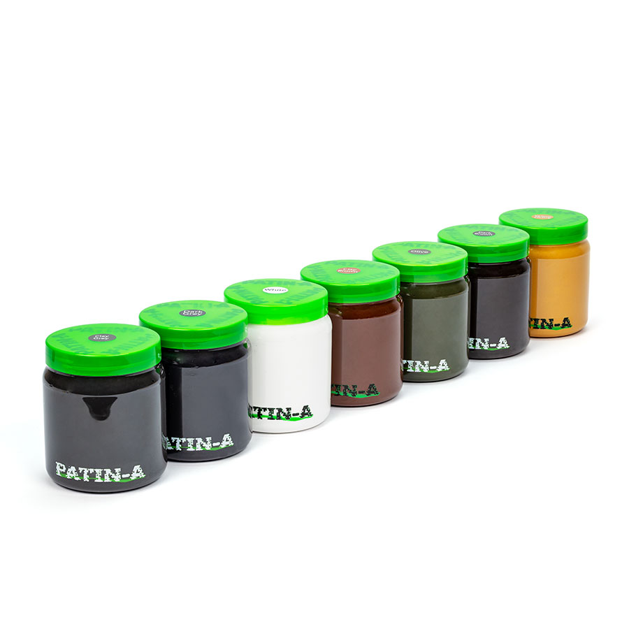 PATIN-PASTE-SET XXL - 7x500ml Patinierpaste
