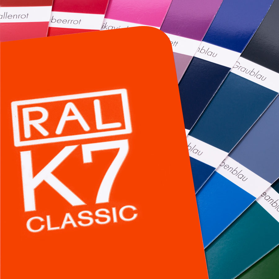 Original RAL-K7 Colour Chart