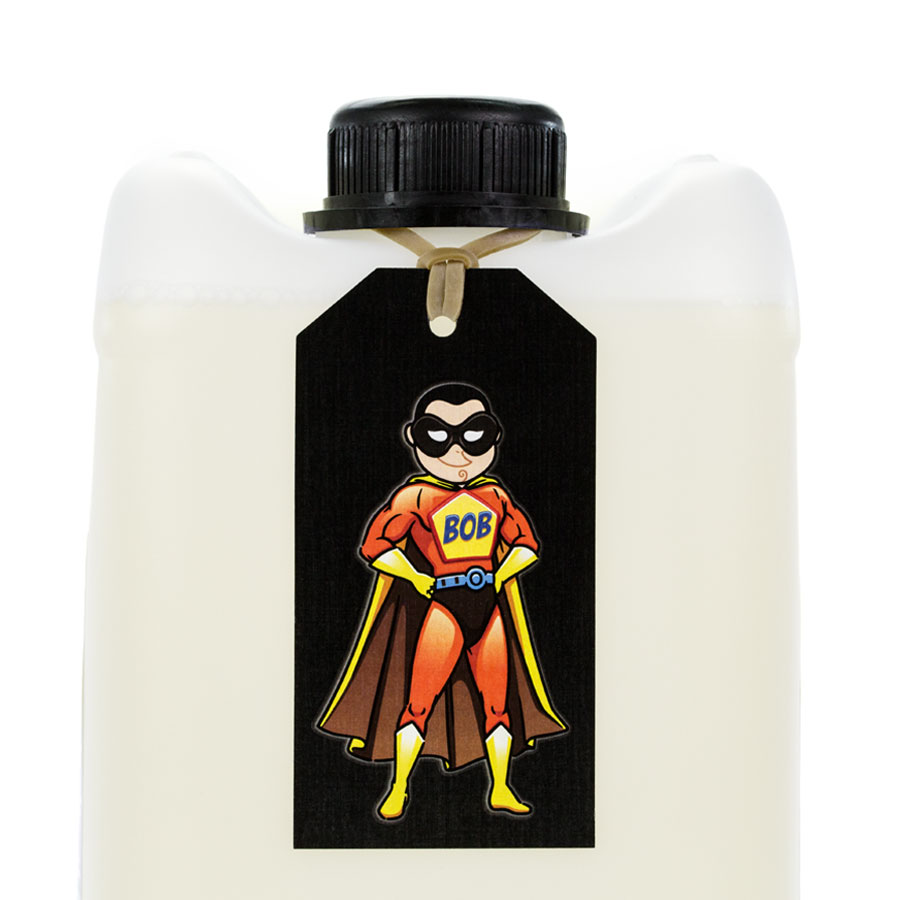 Body Odor Blockout - B.O.B. Superhero