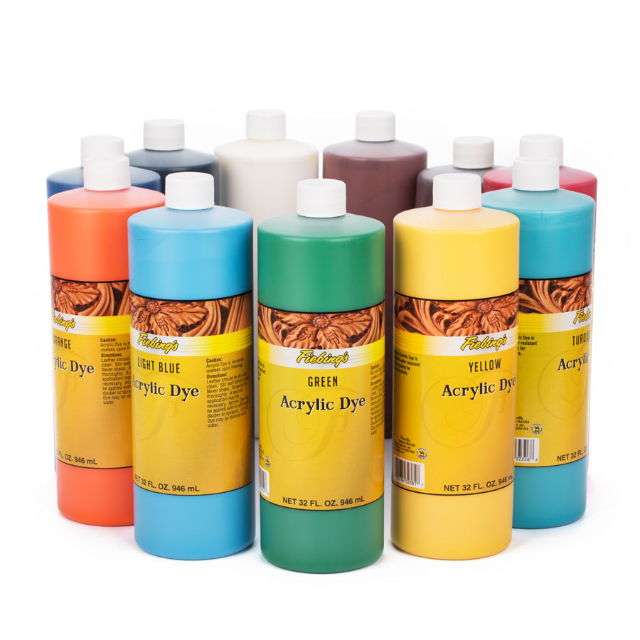 Fiebing's Acrylic Leather Dye (Acryl Lederfarbe) 956ml