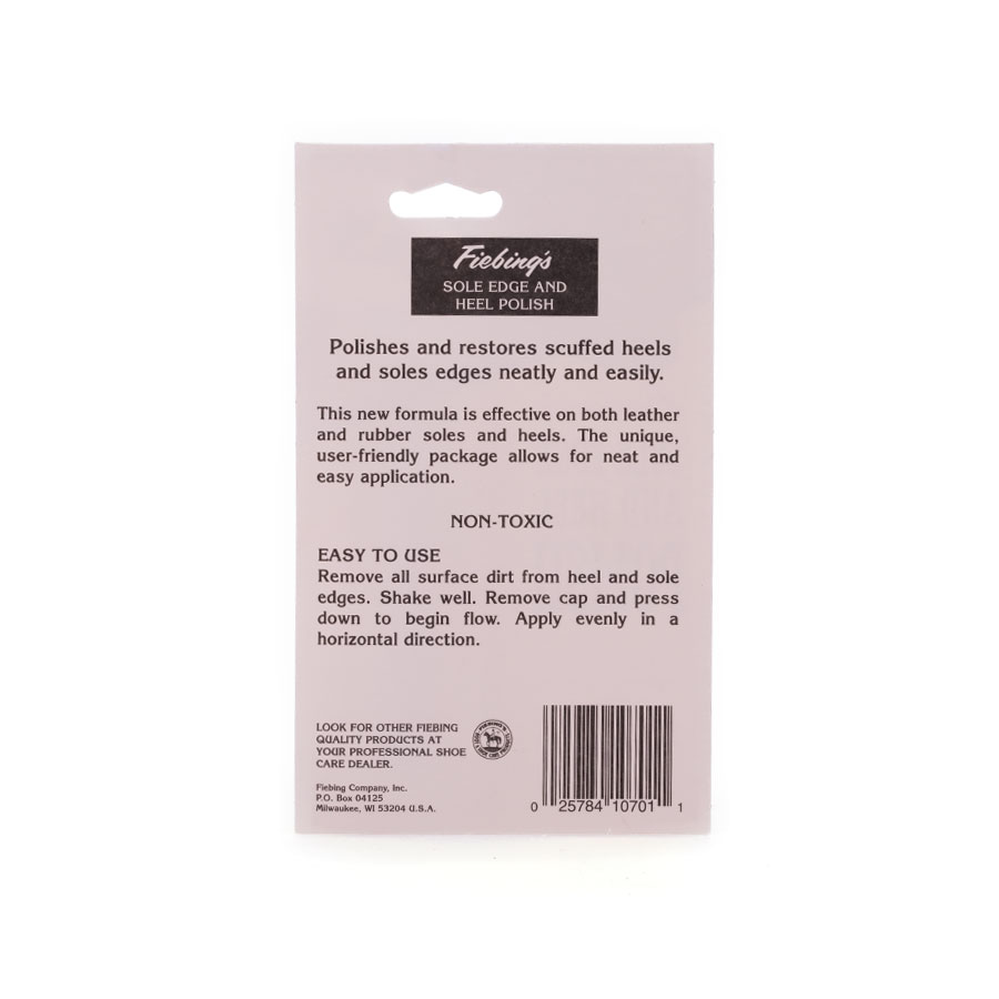 Fiebing's Sole Edge & Heel Polish - Hinter
